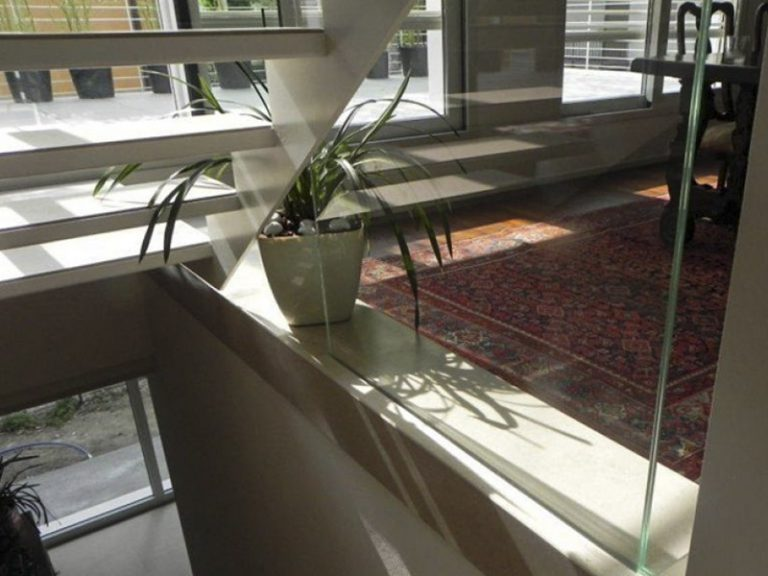 Scale parapetti in vetro