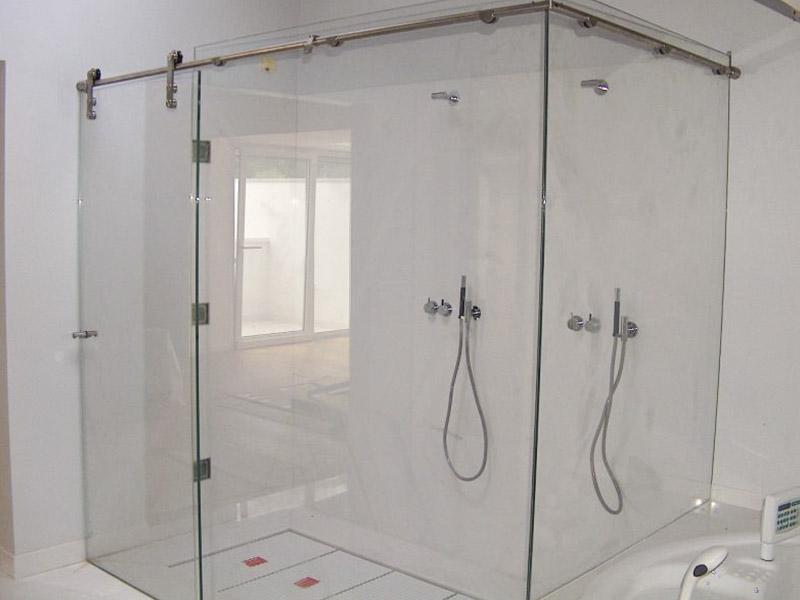 Box doccia in vetro su misura, cabina box doccia su misura ...