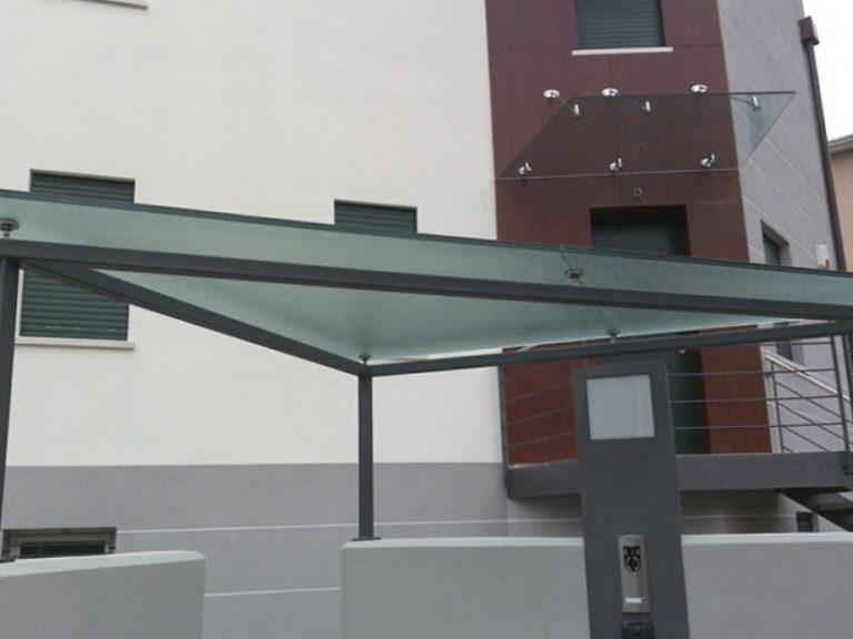 Pensiline e coperture in vetro