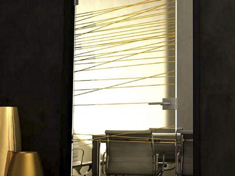 Porte interne di vetro