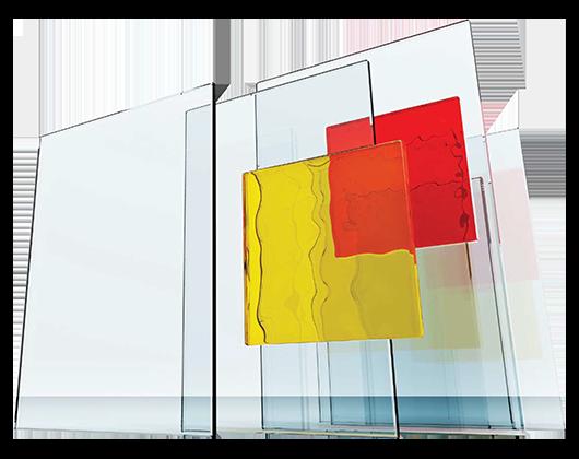 Scale in vetro di design box doccia in vetro coperture e porte